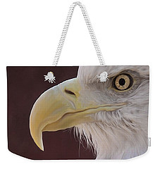 Eagle Portrait Freehand Weekender Tote Bag