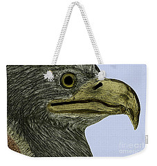 Eagle Poster Weekender Tote Bag by Phil Cardamone