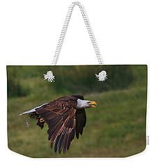 Eagle With Prey Weekender Tote Bag