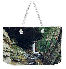 Eaglefalls Trail In Winter Weekender Tote Bag