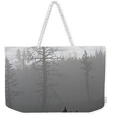 Eagle's Nest In Fog Weekender Tote Bag