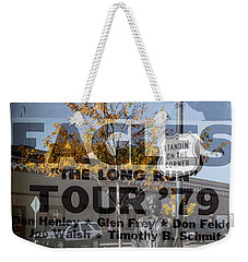 Eagles The Long Run Tour Weekender Tote Bag