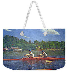Eakins' The Biglin Brothers Racing Weekender Tote Bag