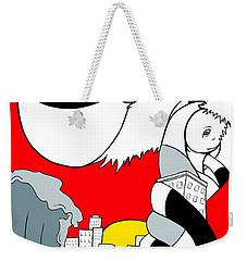 Early Bird Weekender Tote Bag