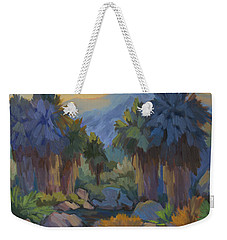Early Light Indian Canyon Weekender Tote Bag