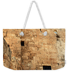 Weekender Tote Bag featuring the photograph Early Morning At The Jaffa Gate by Doc Braham