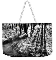 Early Morning Chill Weekender Tote Bag by Mark Kiver