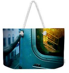 Early Morning Commute Weekender Tote Bag