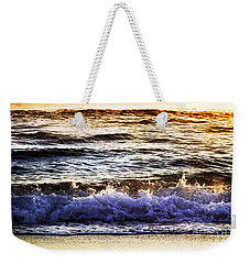 Early Morning Frothy Waves Weekender Tote Bag