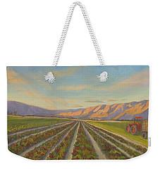 Early Morning Harvest Weekender Tote Bag