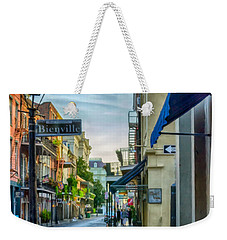 Early Morning In French Quarter Nola Weekender Tote Bag by Kathleen K Parker