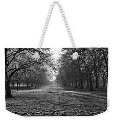 Early Morning In Hyde Park Weekender Tote Bag