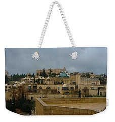 Weekender Tote Bag featuring the photograph Early Morning In Jerusalem by Doc Braham