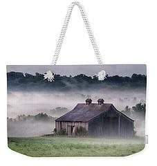Early Morning In The Mist Standard Weekender Tote Bag