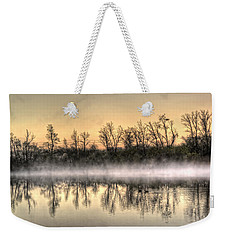 Early Morning Mist Weekender Tote Bag