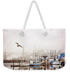 Early Morning Newport Oregon Weekender Tote Bag