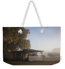 Weekender Tote Bag featuring the photograph Early Morning On The Farm by Lynn Palmer