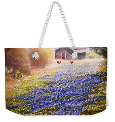 Early Morning Weekender Tote Bag by Patti Gordon