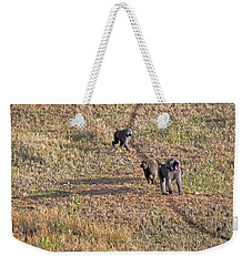 Early Morning Stroll Weekender Tote Bag
