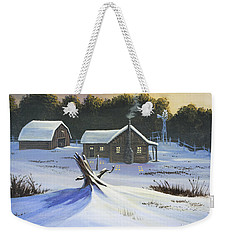 Early Snow Weekender Tote Bag by Jack Malloch