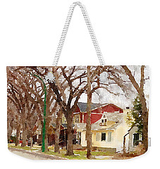 Early Spring Street Weekender Tote Bag