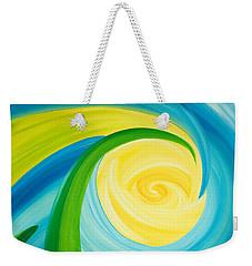 Earth And Sky Meet Weekender Tote Bag by Ginny Gaura