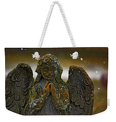 Weekender Tote Bag featuring the photograph Earth Angel by Rowana Ray