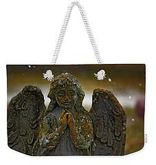 Earth Angel Weekender Tote Bag by Rowana Ray