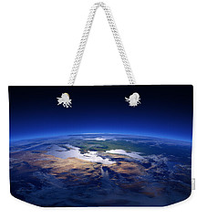 Earth - Mediterranean Countries Weekender Tote Bag by Johan Swanepoel