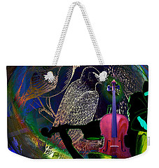 Earth Melody Weekender Tote Bag by Joseph Mosley