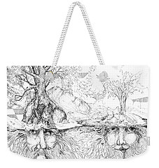 Earth People Weekender Tote Bag