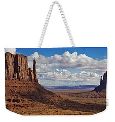 East And West Mittens Weekender Tote Bag by Jerry Fornarotto