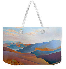 East Fall Blue Ridge No.3 Weekender Tote Bag by Catherine Twomey