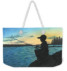 East Pond Weekender Tote Bag by Troy Levesque