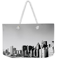 East River New York Weekender Tote Bag by Shaun Higson