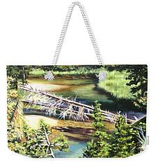 East Rosebud Inlet Stream Weekender Tote Bag by Patti Gordon