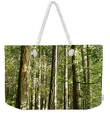 East Sooke Park Trail Weekender Tote Bag by Marilyn Wilson