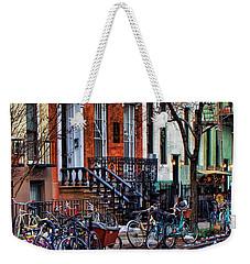 East Village Bicycles Weekender Tote Bag