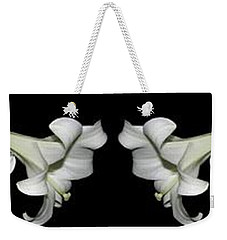 Easter Lilies Panorama Weekender Tote Bag
