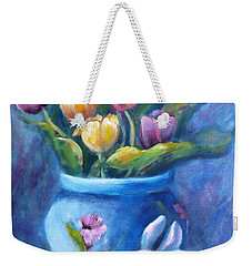 Easter Still Life Weekender Tote Bag