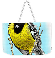 Eastern Meadowlark Weekender Tote Bag