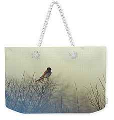 Eastern Phoebe Lacassine Pool  Lacassine Nwr Weekender Tote Bag by Lizi Beard-Ward