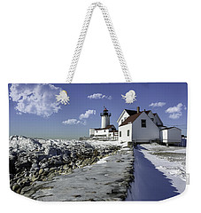 Eastern Point Lighthouse Weekender Tote Bag