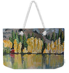 Eastern Sierra Reflections Weekender Tote Bag