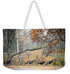 Eastern Wild Turkey  Weekender Tote Bag
