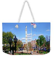 Easton Pa - Civil War Monument Weekender Tote Bag