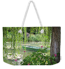 Weekender Tote Bag featuring the photograph Easy Living by Victoria Harrington