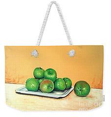 Eat Green Weekender Tote Bag