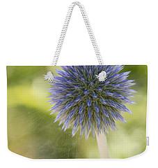 Echinops Blue Weekender Tote Bag
