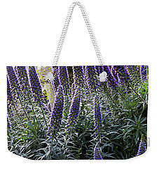 Echium And Tower Weekender Tote Bag